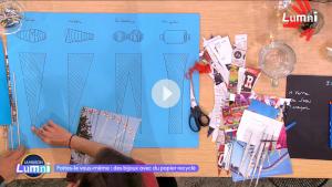 Réaliser des bijoux avec du papier recyclé