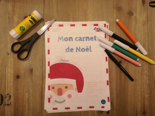 C'est cadeau : notre carnet d'activités (et blagues) de Noël