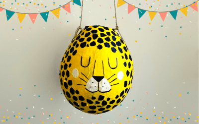 Fabrique ta Piñata en recyclant du papier !