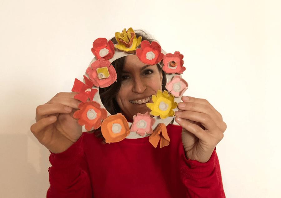 Un super bricolage fleuri pour fêter les mamans !