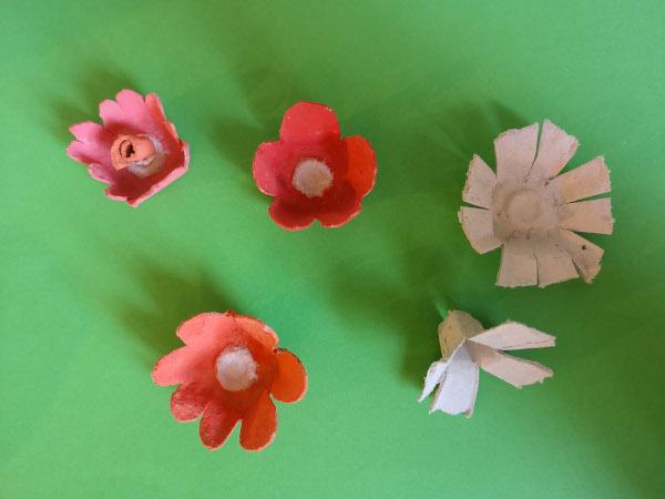 Etape 4 couronne fleurs